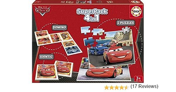 Educa 14927 Cars - Superpack con 3 Juegos: Amazon.es: Juguetes y juegos