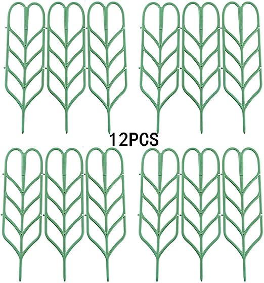 Marooma - 12 enrejados de jardín para Plantas trepadoras pequeñas ...