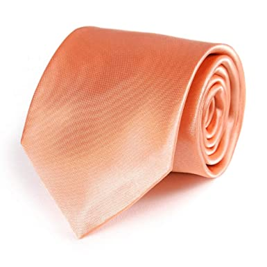 dd92bd115fb2d Dandytouch Cravate Corail Fabriqué en europe: Amazon.fr: Vêtements ...