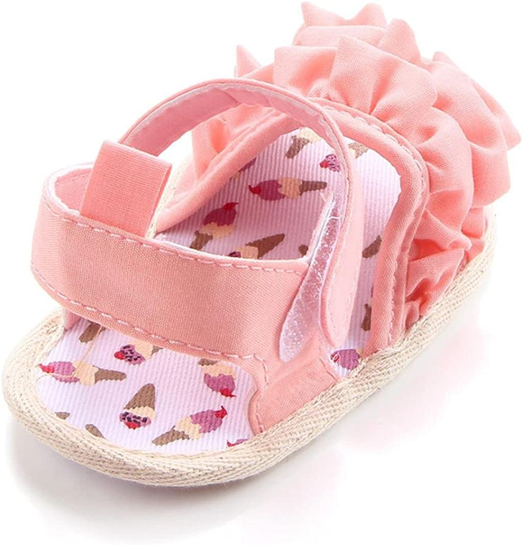 Kolylong Chaussures B/éb/é Dentelle b/éb/é Sandales Fond Souple