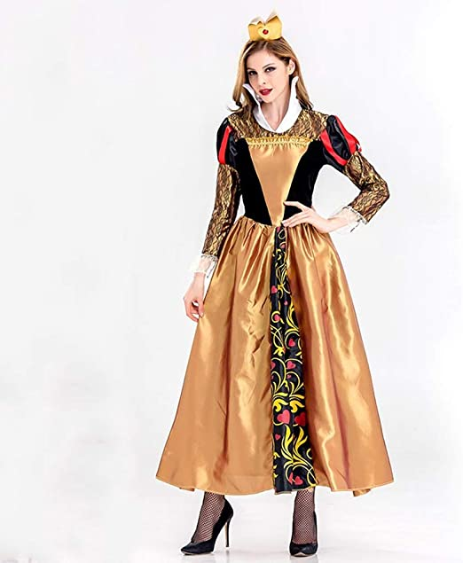 LJJOZ Disfraz de Cosplay de Halloween, Disfraz de Reina del ...