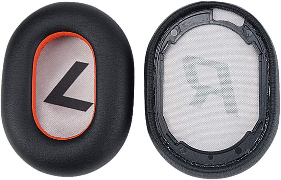 White Ear Pads Replacement Memory Foam Ear Covers for Plantronics Voyager 8200 UC Stereo Bluetooth Headphones Ear Pads Cushions Headset
