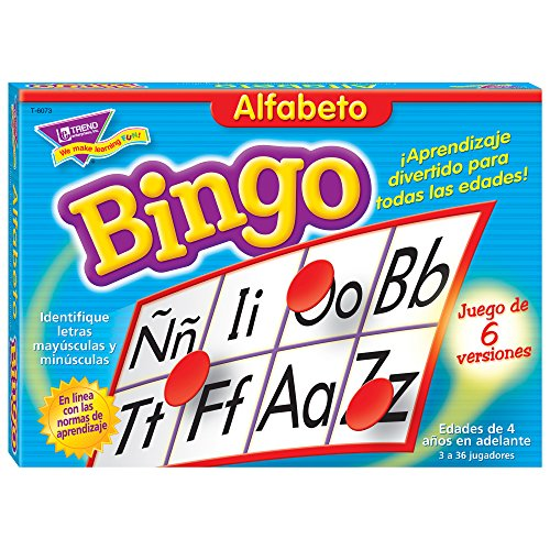 Bingo de Alfabeto (Spanish Alphabet)
