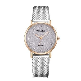 Reloj para Mujer Pulsera Regalo Reloj Delgado Dulce Reloj de Gama ...