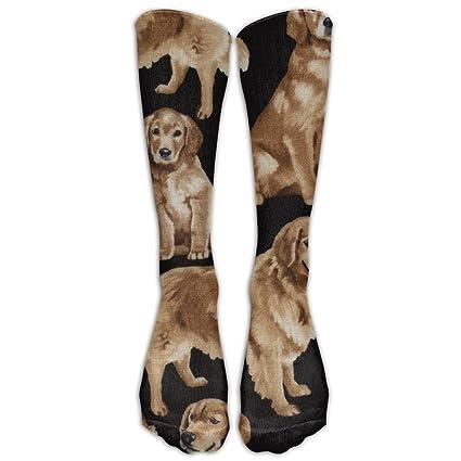 Amazon Com New Golden Retrievers Fashion Stylish Knee High Socks