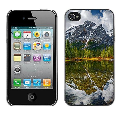 Premio Sottile Slim Cassa Custodia Case Cover Shell // F00006536 lac canada // Apple iPhone 4 4S 4G