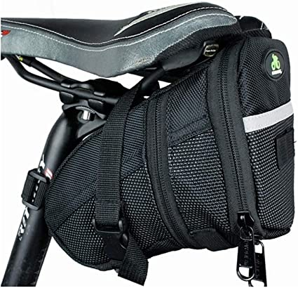1.2L Outdoor Bike Bicycle Cycling Saddle Bag Seat Storage Tail Rear Pouch