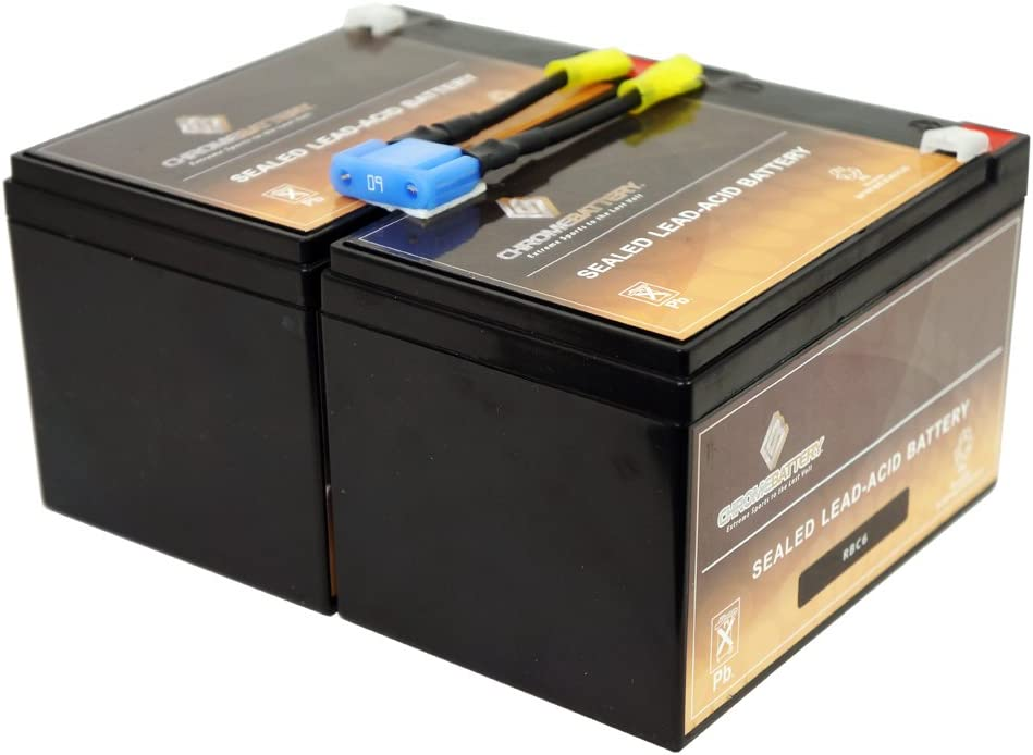 RBC6 UPS Complete Replacement Battery Kit for SU1000