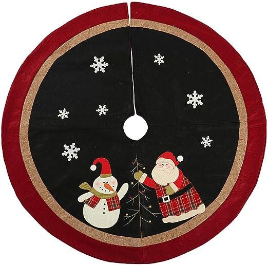 likeitwell Manta De Árbol De Navidad De 120 Cm- Falda De Árbol De ...