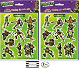 Best Teenage Mutant Ninja Turtles Kid Watches - Teenage Mutant Ninja Turtle 4 Sheets of Stickers Review