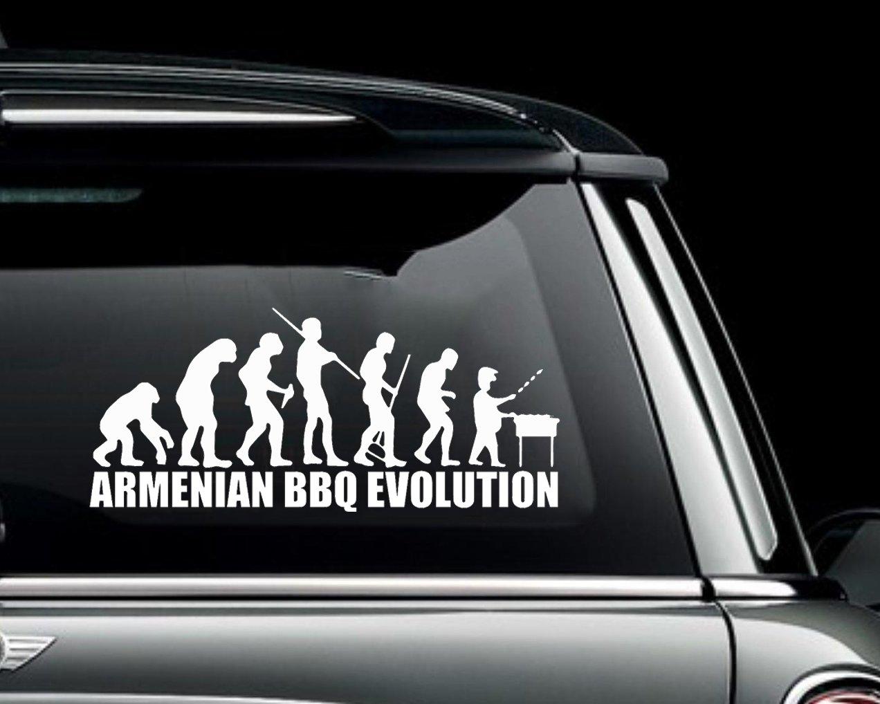 Armenia Flag Vinyl Decal Bumper Sticker 2-Pack Car Truck Van Laptop Window