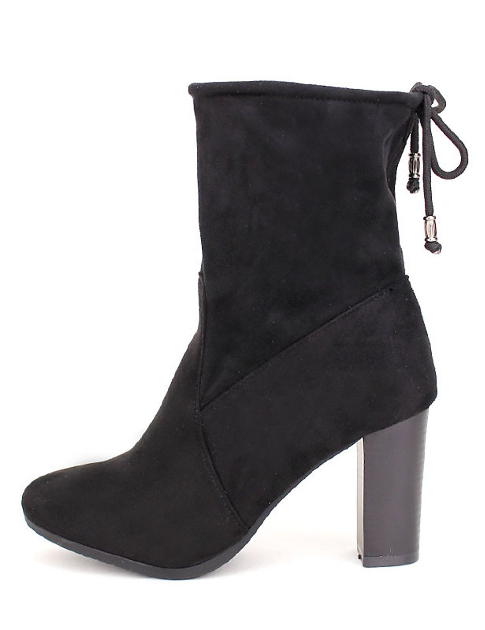 Cendriyon, Bottines Diza Noir Noires Daim Diza Chaussures Bottines Femme Noir 2480324 - reprogrammed.space