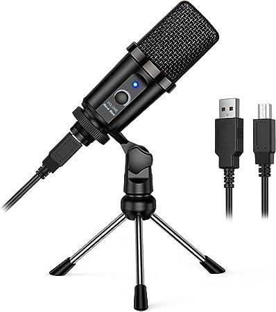 New Bee Mikrofon Pc Mit Ständer Plug And Play Usb Computer Zubehör