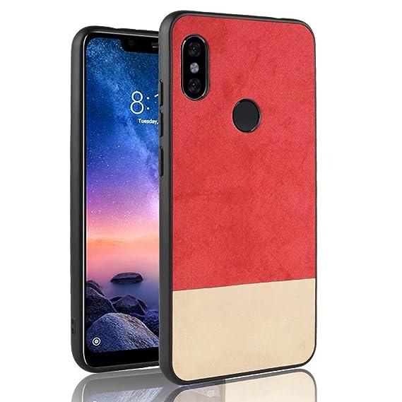 outlet store 9e481 3d1ff Amazon.com: Xiaomi Redmi Note 6 Pro Case,Valenth Protective Hard ...