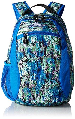 Vivid Curves (High Sierra Curve Backpack, Python/Vivid Blue/Black)