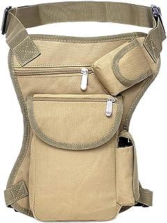 XXIAZHI,Tactique multi-fonction jambe sac équitation en plein air toile escalade taille suspendus sac de jambe portable