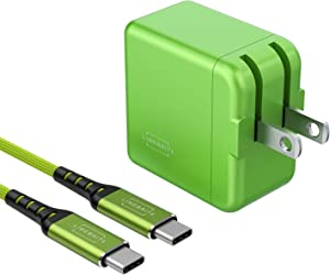 Limebrite 18W Fast Charging Wall Charger + 10ft Braided Cable Compatible with iPad Air 4th Generation (2020), iPad Pro 11