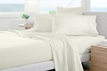 Nice Lussona Collection 1200 Count 100% Egyptian Cotton Bed Sheets   4 Piece Bed  Sheet Set
