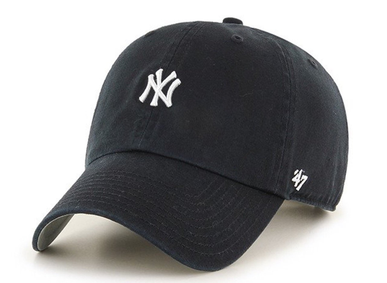 a9b9d198cf5 MLB New York Yankees Abate Clean Up  47 Brand Navy Adjustable Hat   Amazon.ca  Sports   Outdoors