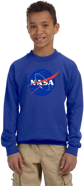 Nasa Shuttle Launch Logo Kids Sweatshirt
