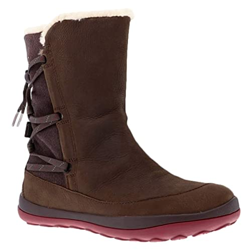 Camper Mujer Peu Pista Leather-Textile Multi - Assorted Botas 36 EU