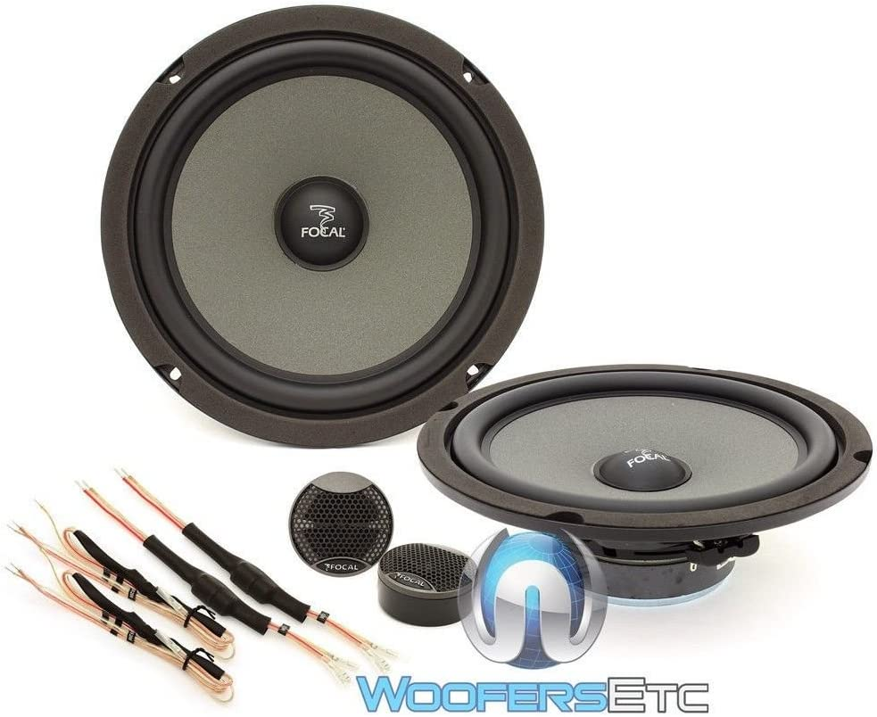 Focal ISS-200 8 80 Watt RMS 2-Way Component Speakers System