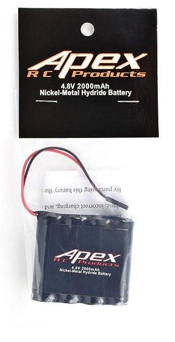 Amazon.com: Apex RC productos 4,8 V 2000 mAh NiMH plano ...