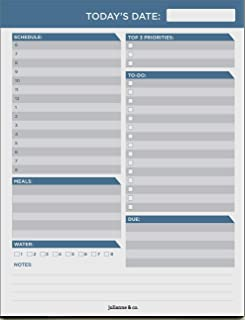 Amazon.com : Procrastination Pad A4 - To Do List Pad Daily ...