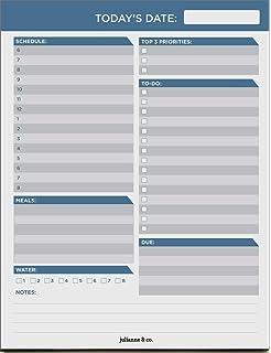 Amazon.com : Procrastination Pad A4 - To Do List Pad Daily ...