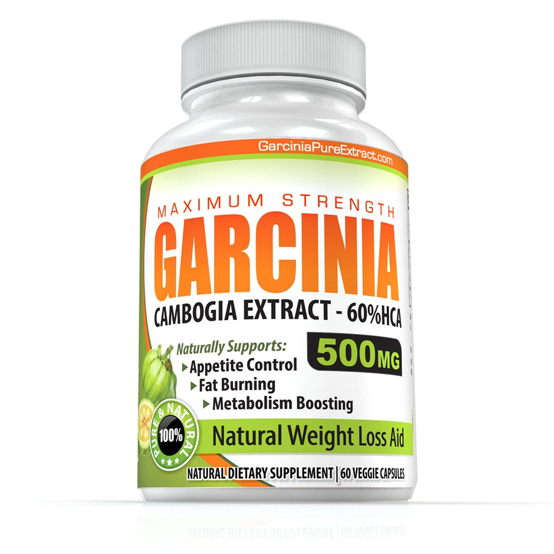 Amazon.com: Premium Garcinia Cambogia Extract 500mg with 60% HCA 60 Capsules (1-Bottle Special) - 1 Months Supply Made in the USA.
