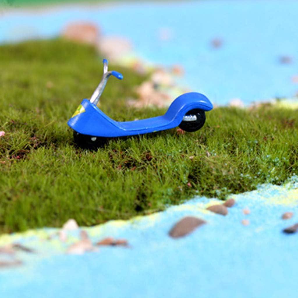 dailymall Blue Playmobile Miniature Scooter Zubeh/ör Dollhouse Zubeh/ör Sand Table
