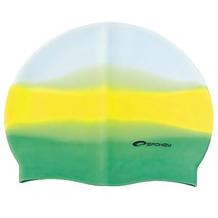 ceb6750132ce SPOKEY ABSTRACT Cuffia in silicone per nuoto piscina mare UNISEX:  Amazon.it: Sport e tempo libero