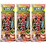 五木食品 糖質30%off とんこつラーメン 75g×3袋