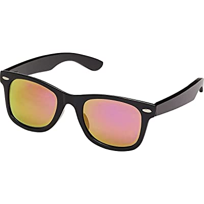 Blue Planet Eyewear Classic Blackout JR Sunglasses - Kids' Matte Black / Black Bamboo, One Size