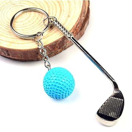 Amazon.com : MarketBoss 2PCS Golf Ball Clubs Keychain Key ...