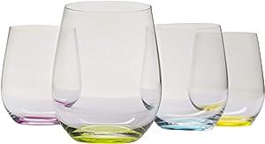 Riedel O Wine Tumbler Happy, Set of 4