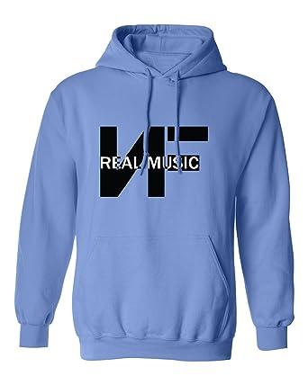 Amazon.com  SHEKI APPAREL NF Real Music Mens Hoodie Hooded ... 750ca0dcaaf