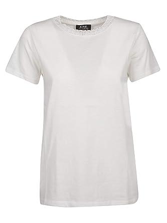 Femme Coton Shirt Blanc Coczcf26741aabblanc Fj1cut3lk Apc T v8NPwymn0O