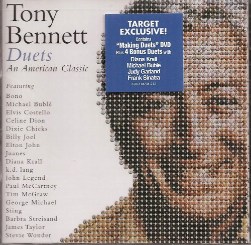tony-bennett-duets-an-american-classic-target-exclusive-cd-dvd-with-behind-the-scenes-video
