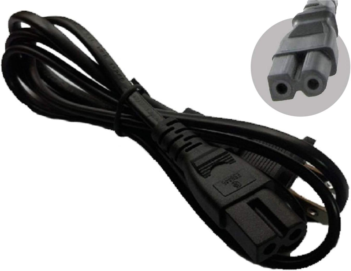 Elna UK Mains 2 PIn Power Lead Cable Cord For Elna Sewing Machines