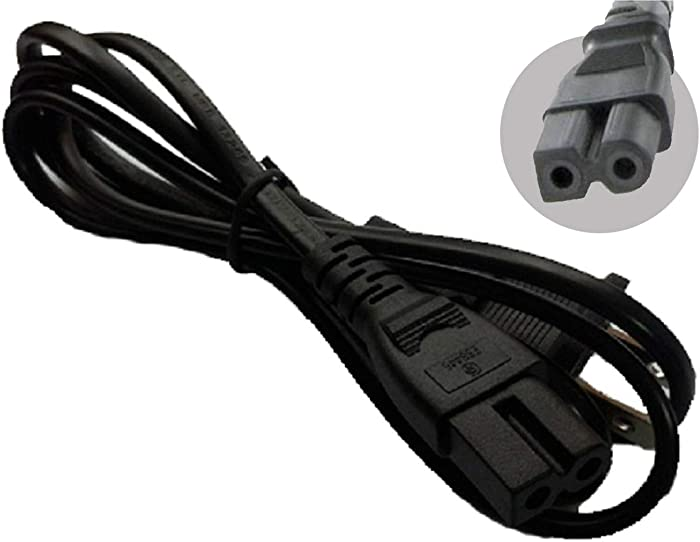 UpBright New AC IN Power Cord Outlet Socket Cable Plug Replacement For Roland HP-207 HP207 Digital Piano Music Keyboard