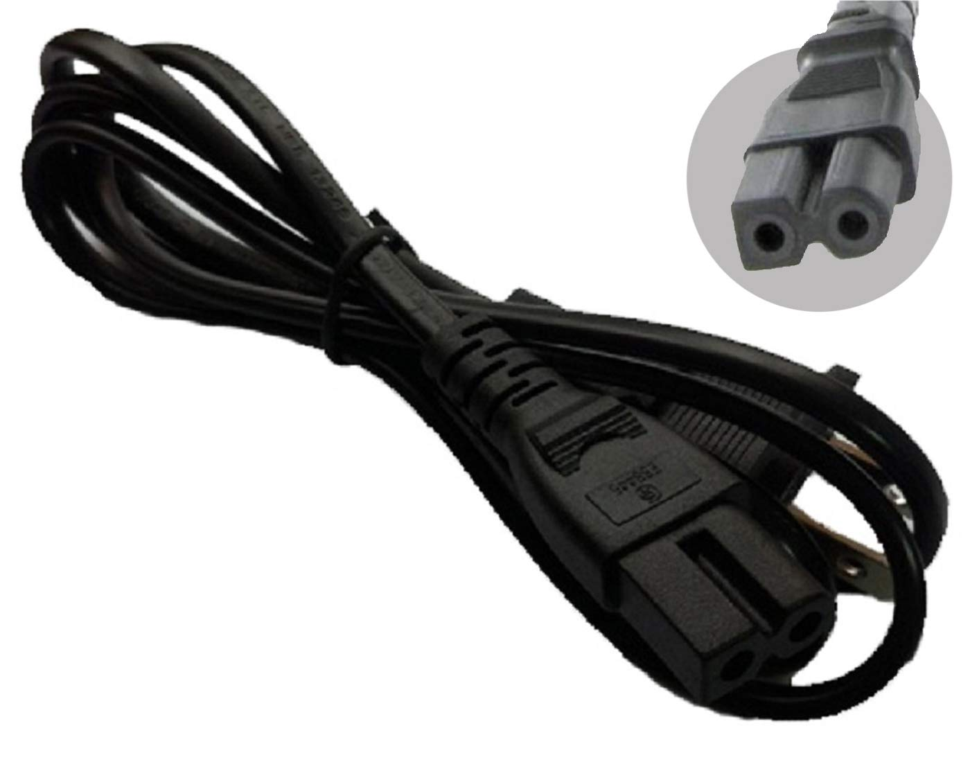 LOT OF 2 AC POWER CORD for Comcast Cable box Directv Dish DVR 6