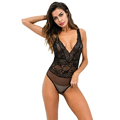 b4f0b38de3 Givekoiu 2019 Nightwear Underwear Sleepwear Nightgown Nighty Set Fishnet  Halter Oversize Bodysuit Plus Size