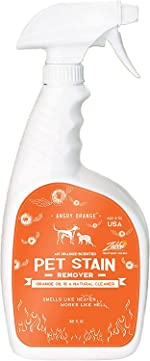 ANGRY ORANGE Enzyme Stain Cleaner & Pet Odor Eliminator, Dog &
