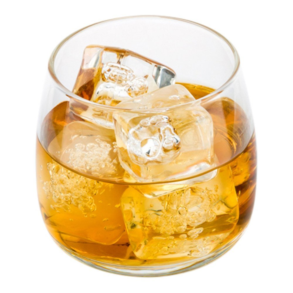 Low Ball Scotch Glass, Low Ball Whisky Glass - 6 oz - Great for Straight on the Rocks or Cocktails - 10ct Box - Restaurantware by Restaurantware (Image #1)