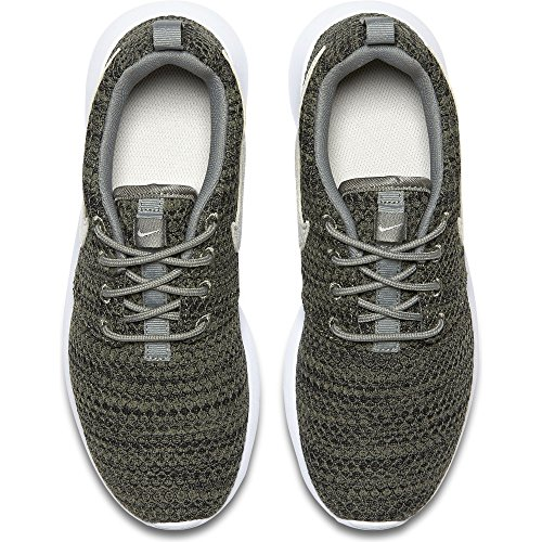 Zapatillas De Running Nike Kids Roshe One Se (gs) Dark Stucco / Light Bone-black-white