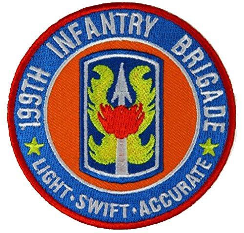 199TH INFANTRY BRIGADE LIGHT SWIFT ACCURATE ROUND PATCH - Color - Veteran Owned (199th Light)