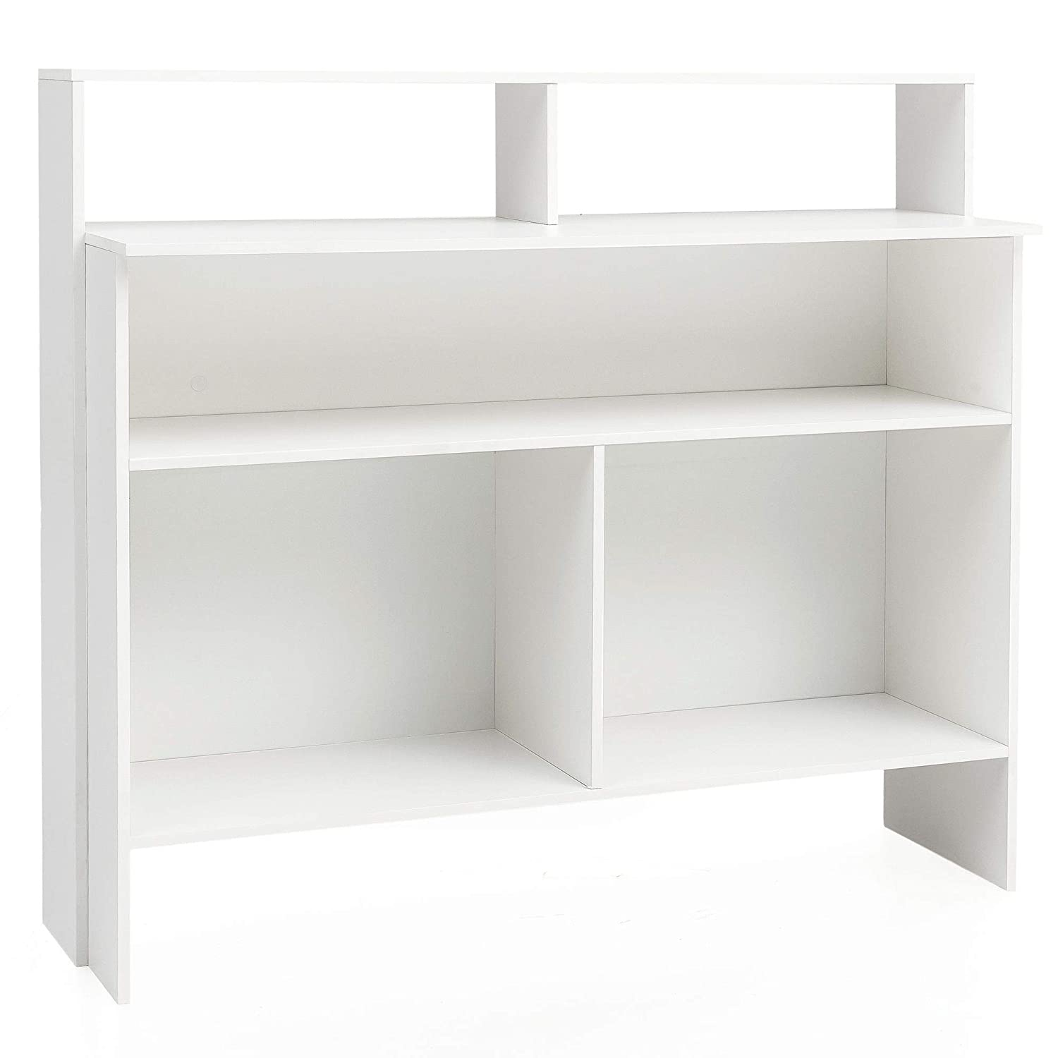 KADIMA DESIGN Standregal Stehregal Bücherregal Modern Weiß ...