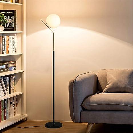 LCYCN Lámpara De Pie LED, Nordic Creative Control Remoto ...
