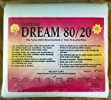 Quilter's Dream 80/20, White, Select Loft Batting - Double Size 96''X93''